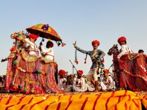 Composition of Culture at pushkar mela