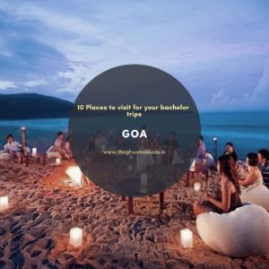 Your bachelorette would be left out without Goa.
